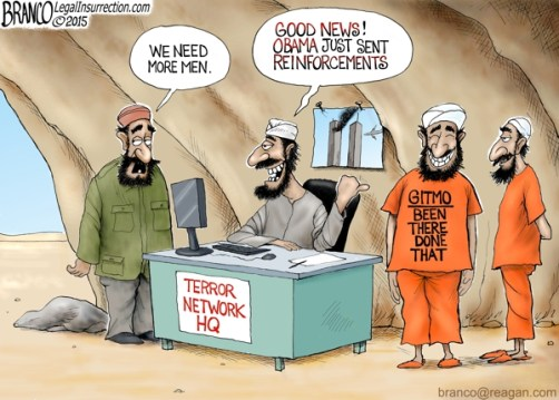 Obama provides new terrorists with Gitmo releases