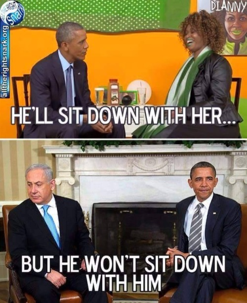 Obama sits down with Glozell but not Netanyahu