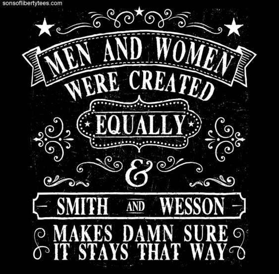 Smith and Wesson the great equalizer