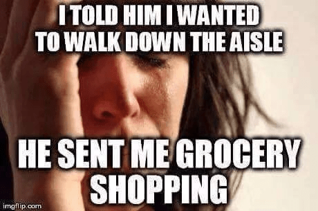 Aisle Grocery Shopping