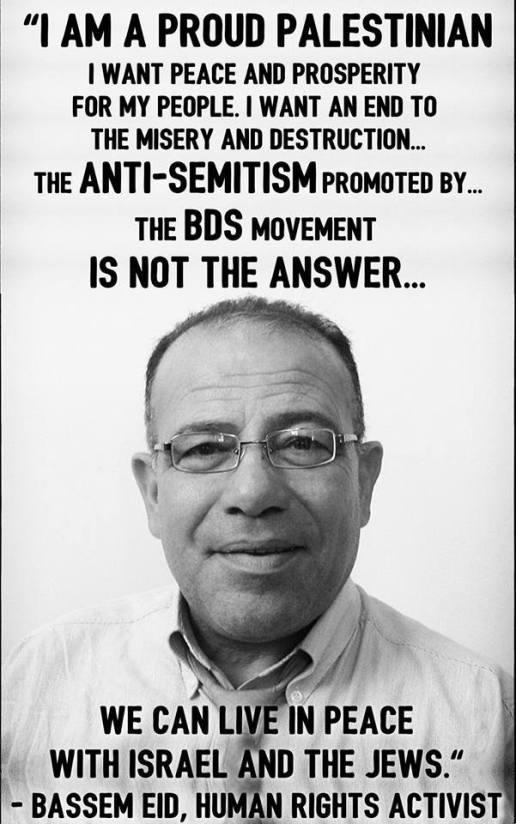 Bassem Eid Palestinian Peace activitist