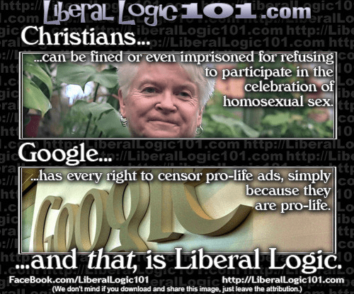 Christians persecuted for gay marriage google celebrated for squashing pro life speech