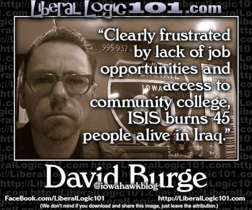 David Burge on ISIS reflecting a lack of good jobs
