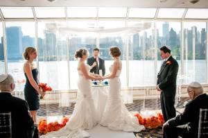 Jewish lesbian wedding