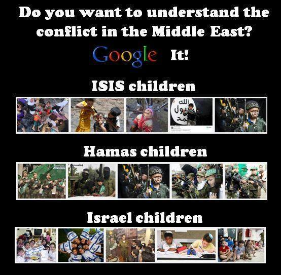 Children Israel ISIS Hamas