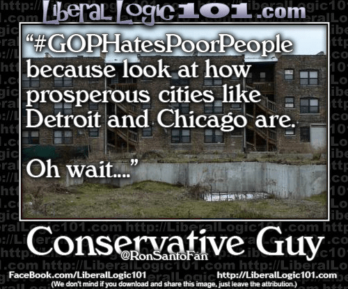 Detroit Chicago Democrats hate poor peopel