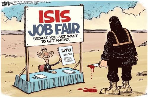 ISIS job fair Obama
