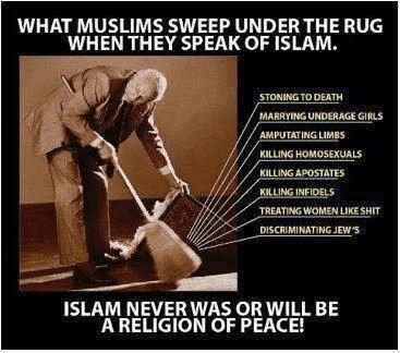 Muslims hide Islam's problems