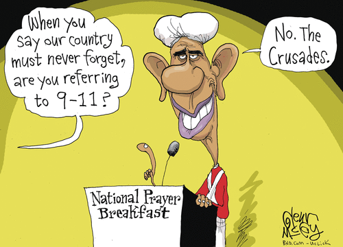 Obama and the Crusades