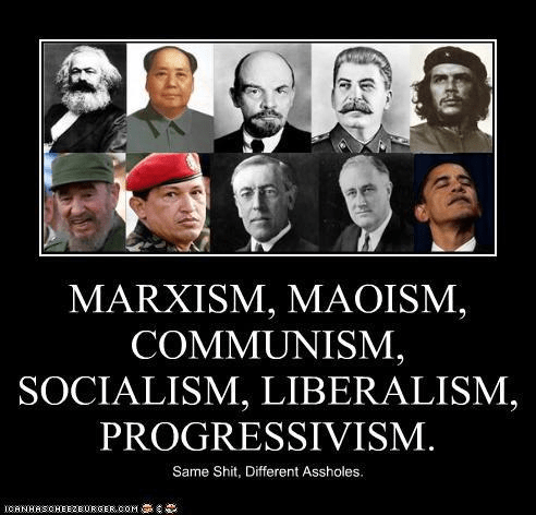 Progressivism the same as all other socialisms