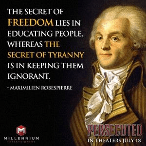 Robespierre on liberty and true education