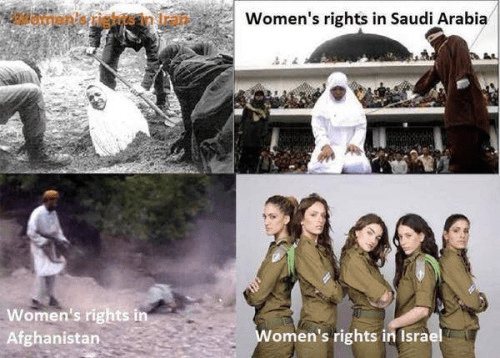 Women's rights in the Middle East Israel