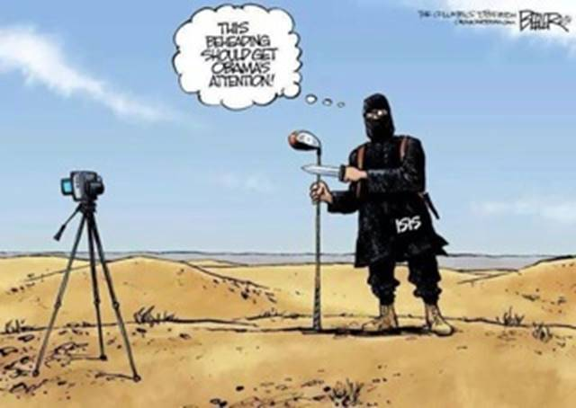 A beheading to get Obama's attention