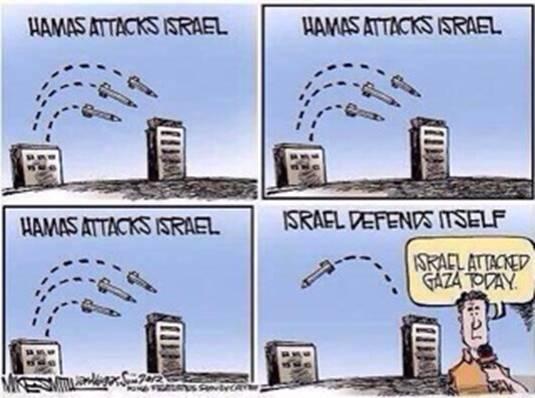 Biased reporting re Israel