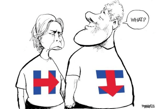 Bill and Hillary logo