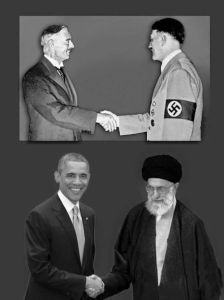 Chamberlain and Obama appeasers