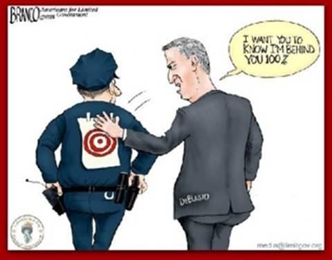 DeBlasio and the police