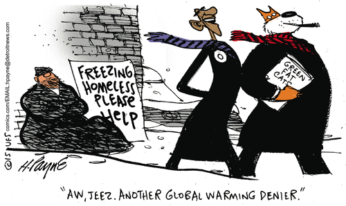 Global warming denier