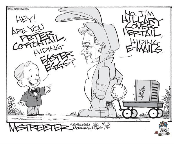 Hillary Cover Her Tail