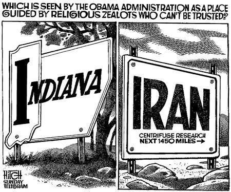 Obama Indiana Iran