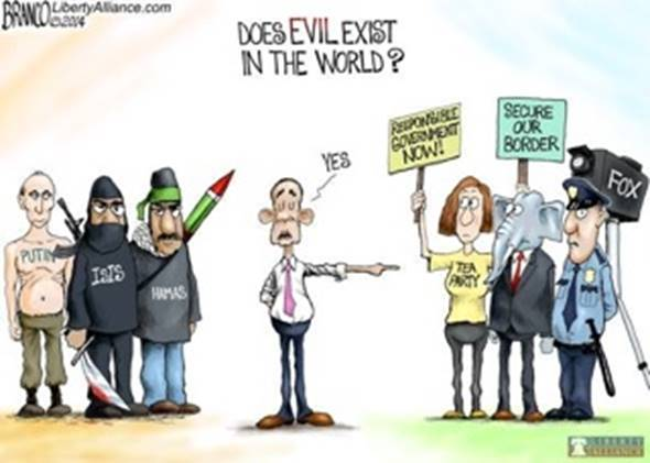 Obama's idea of evil