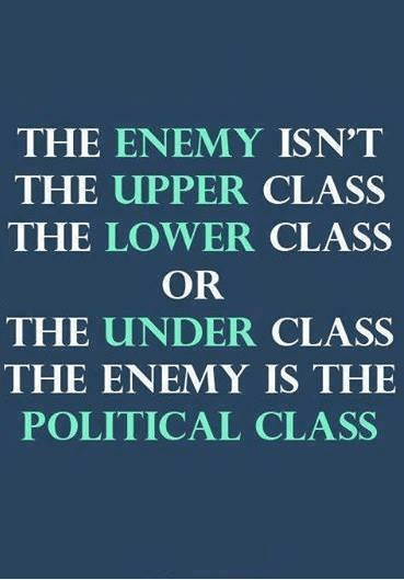 Political class enemy