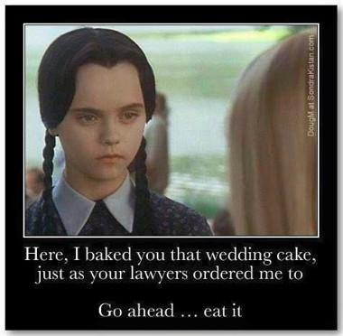 Wedding cake ordered to make