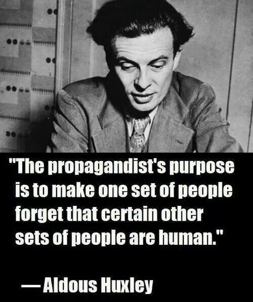 Aldous Huxley on propaganda