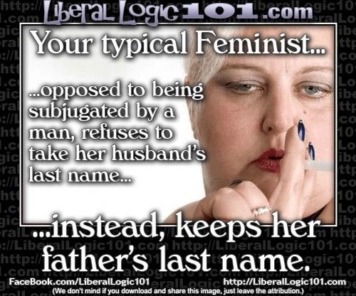 Feminists last names