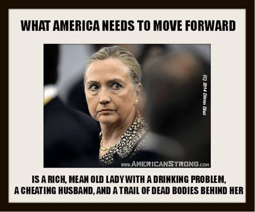 Hillary Clinton forward