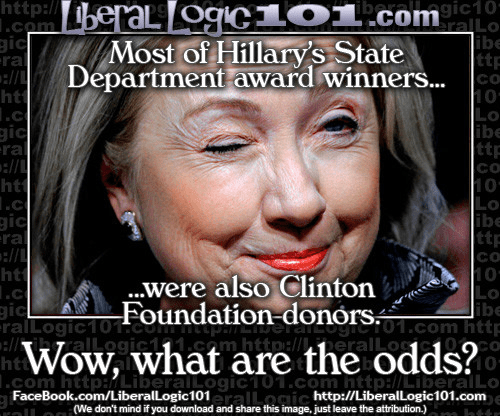 Hillary State Department Foundation Donores