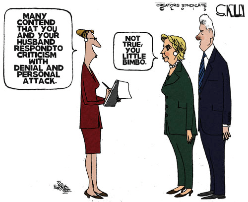 Hillary responds to criticism