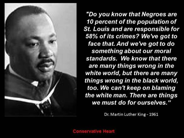 Martin Luther King on black self-help