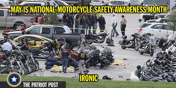 National Motorcycle safety month