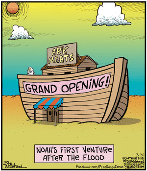 Noah after the flood