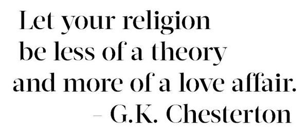 Religion Chesterton