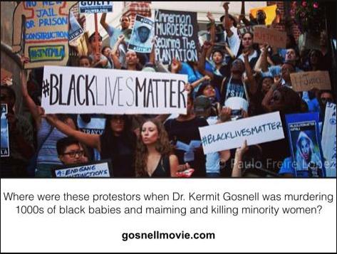 Some black lives don't matter Gosnell