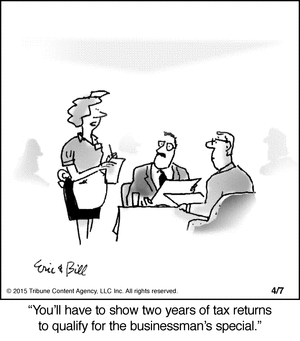 Tax returns cartoon