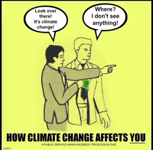 Climate change is taxpayer theft