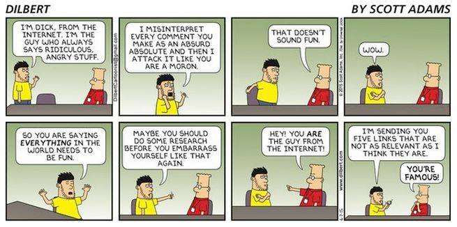 Scott Adams on the Guy from the Internet
