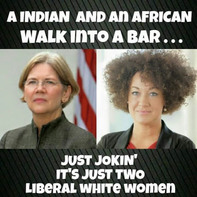 Two liberal white women