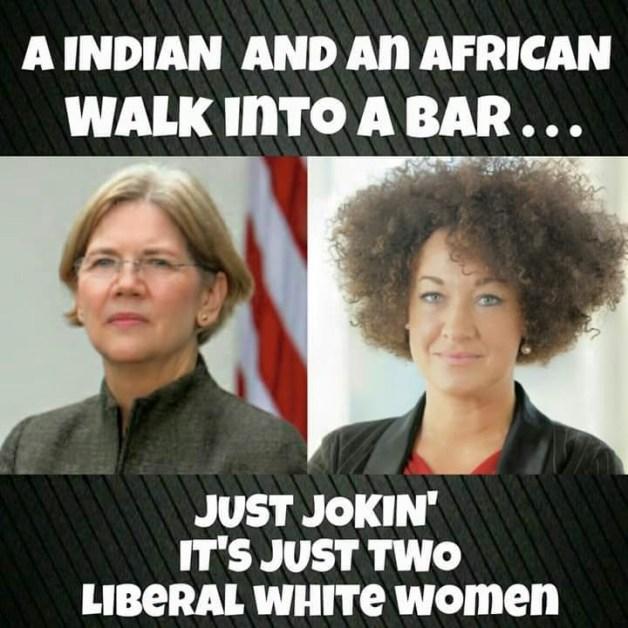 Two liberal white women