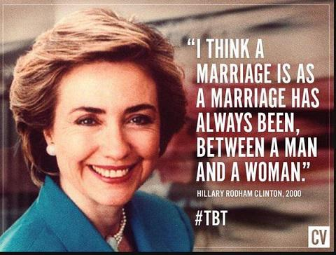 Hillary Clinton on marriage