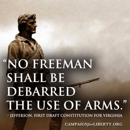 Jefferson on guns