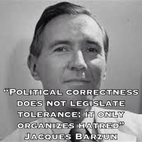 Political correctness Jacques Barzun