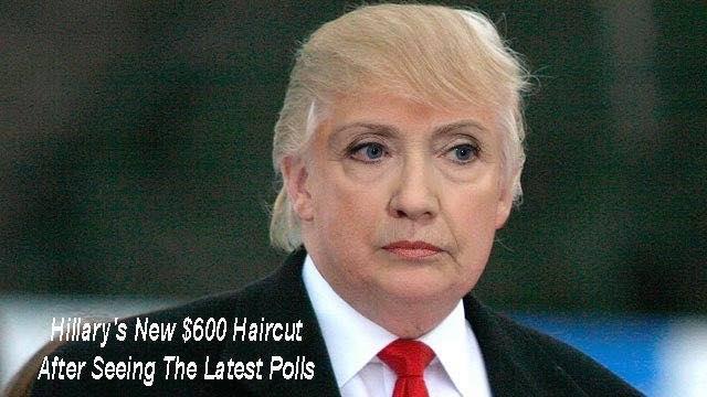Hillary's new haircut