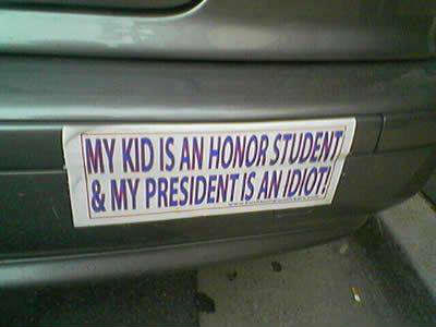 Honor student and idiot