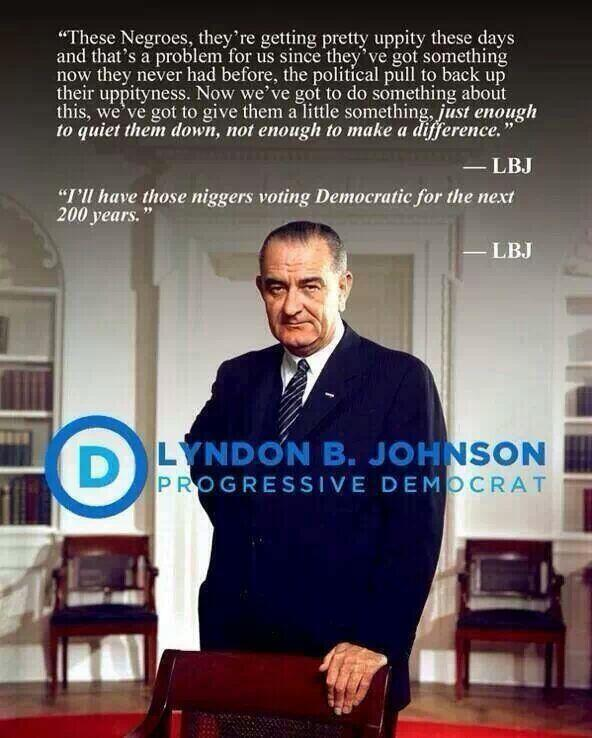 Johnson on welfare and blacks