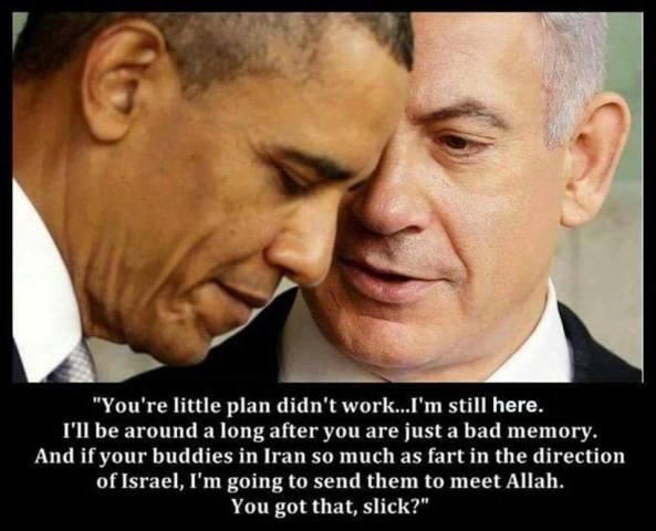 Netanyahu schools Obama