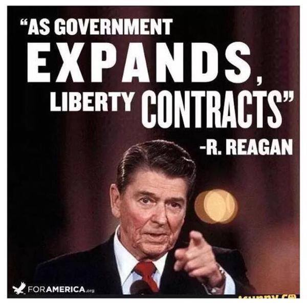 Reagan on big government